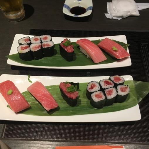 Sashimi - roe really good!